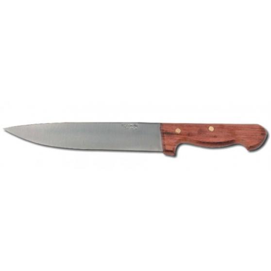 Cuchillo de madera Inox.